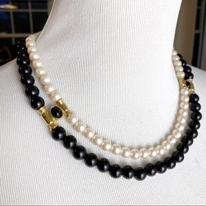 VTG 60s Richelieu Pearls Double Strand Necklace